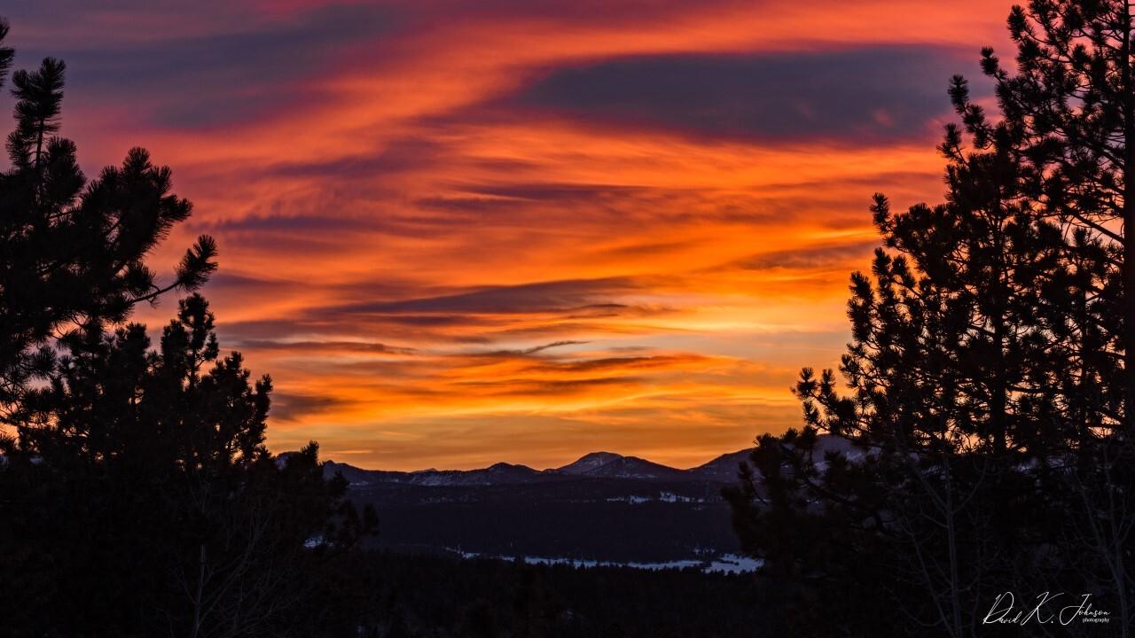 Florissant sunset