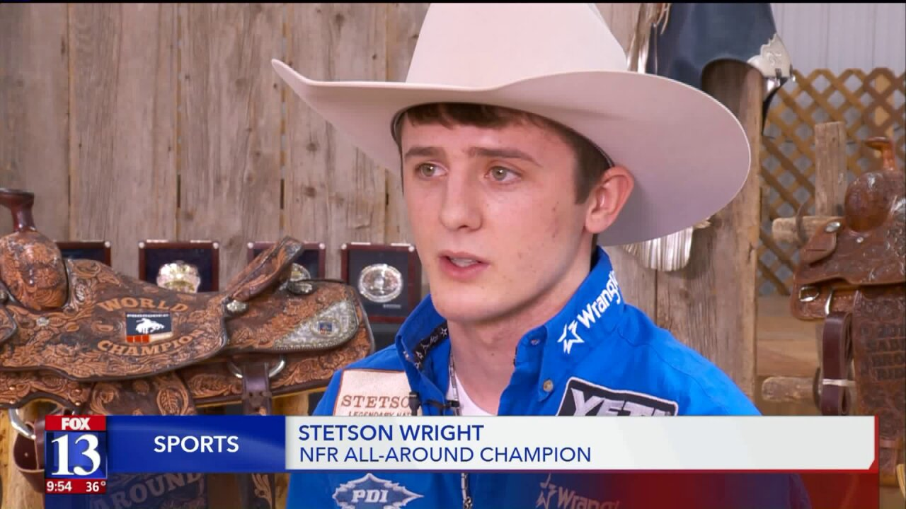 After successful rodeo season, Utah's Stetson Wright aims to go even bigger