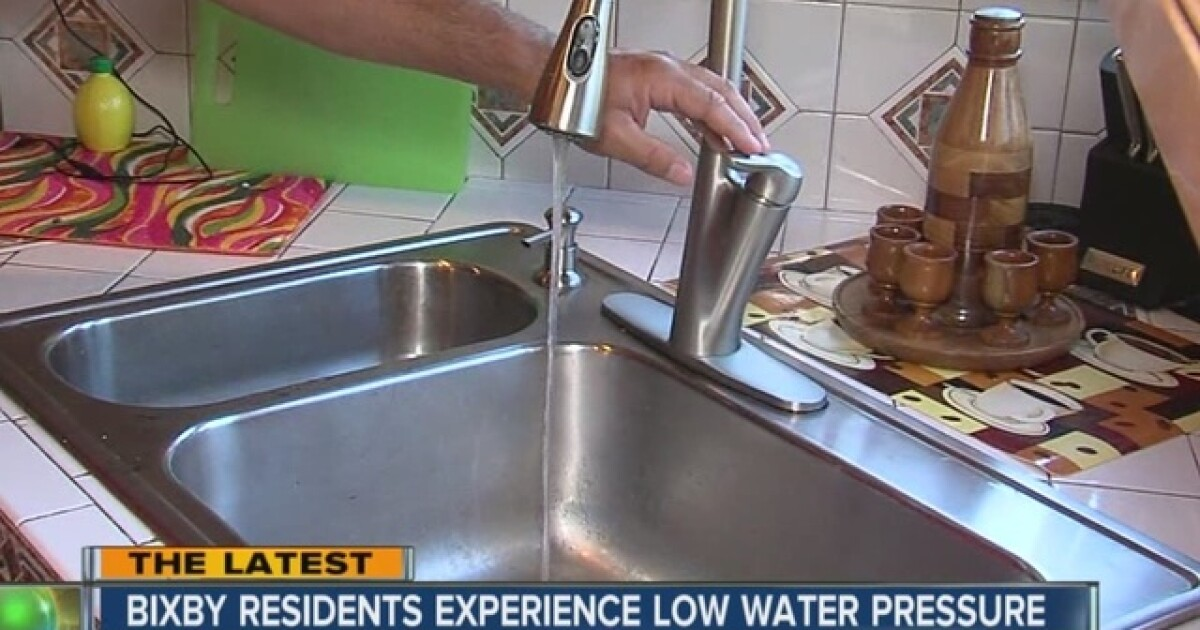 Bixby Residents Battle Low Water Pressure Amid High Temperatures Saturday