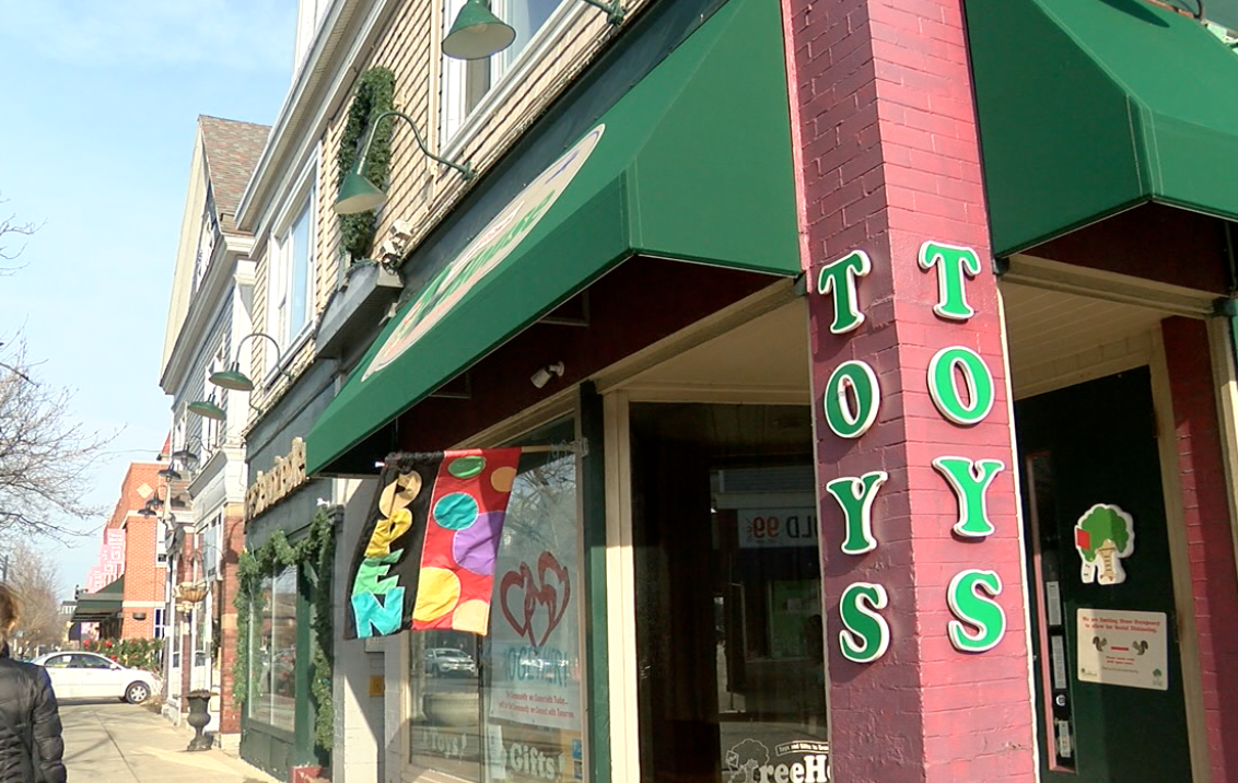 The Treehouse Toy Store on Elmwood Ave is one of the businesses the A-team is buying from