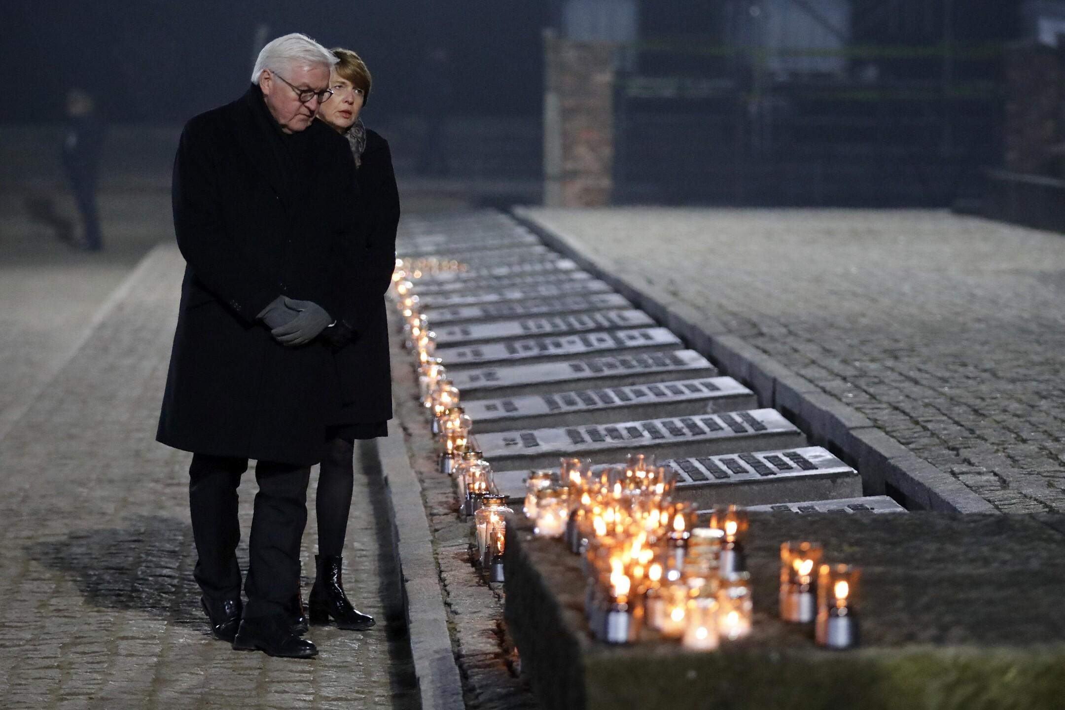 Poland Auschwitz Liberation Anniversary