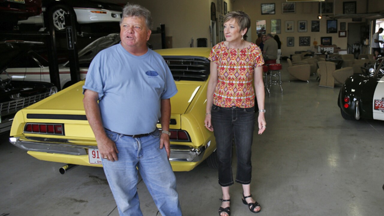 Local couple using vintage cars for philanthropy