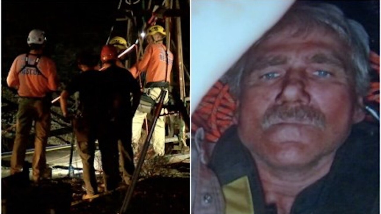 Arizona man files lawsuit, says failed piece of equipment trapped him in mineshaft for 3 days