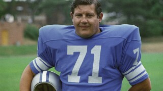 Detroit Lions DT Alex Karras selected to Pro Football Hall of Fame