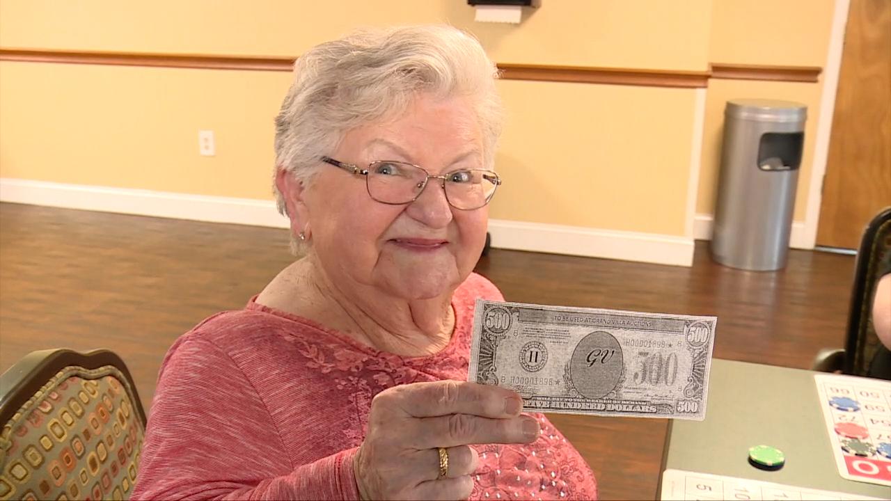 Seniors Bingo is Back