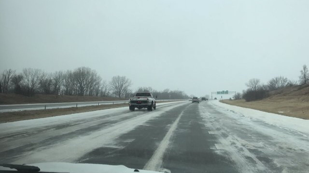 Winter weather updates: Traffic & crashes