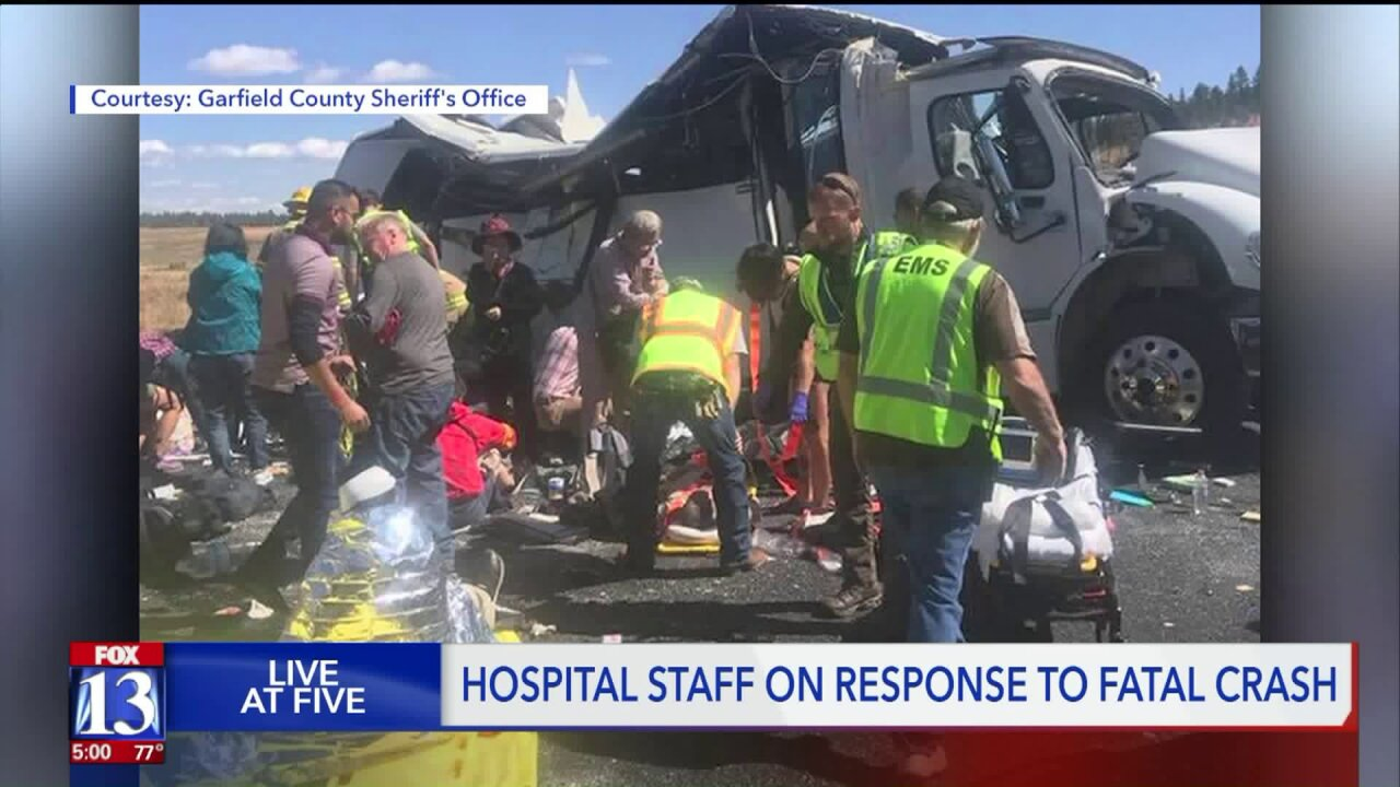 How a small-town hospital saved patients after horrific bus crash near Bryce Canyon