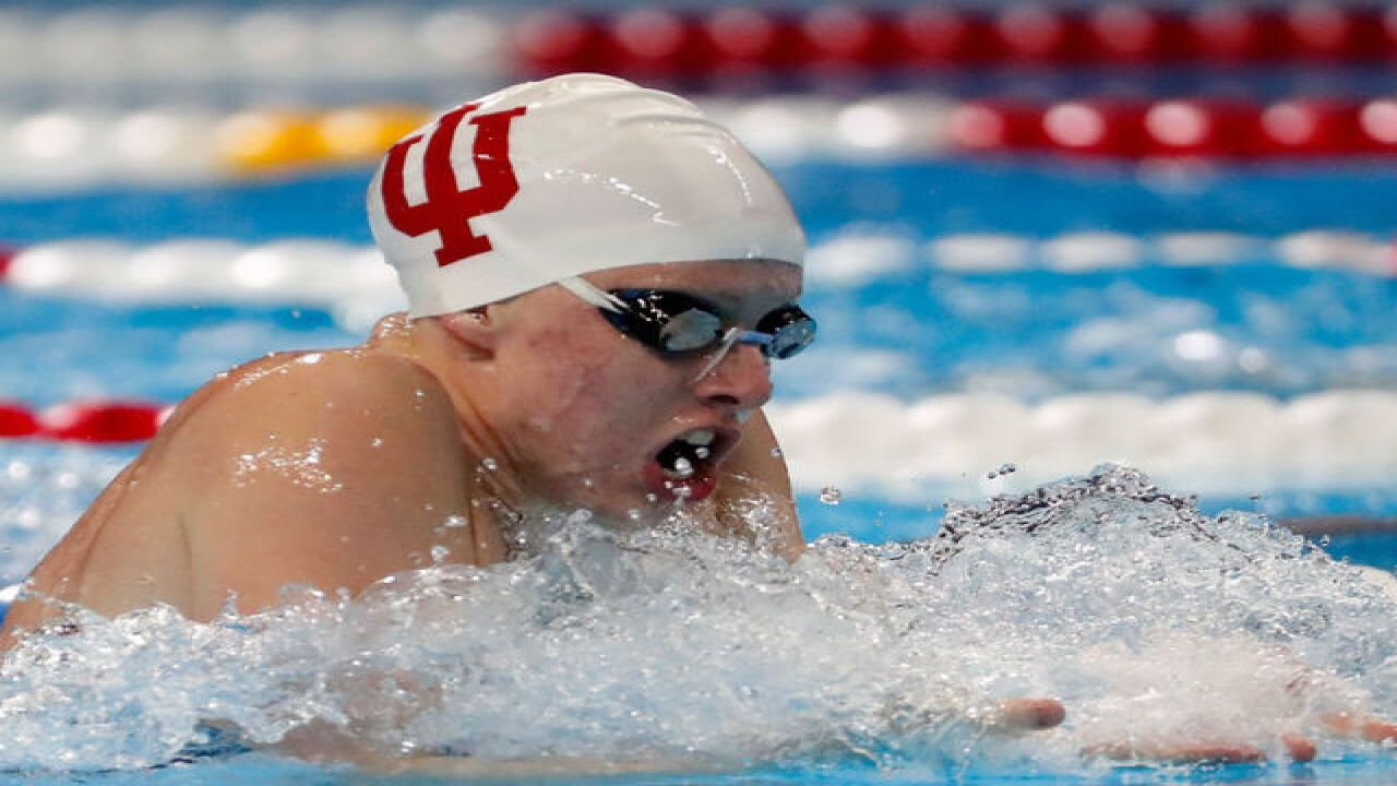 IU's Lilly King takes gold medal at Rio Olympics