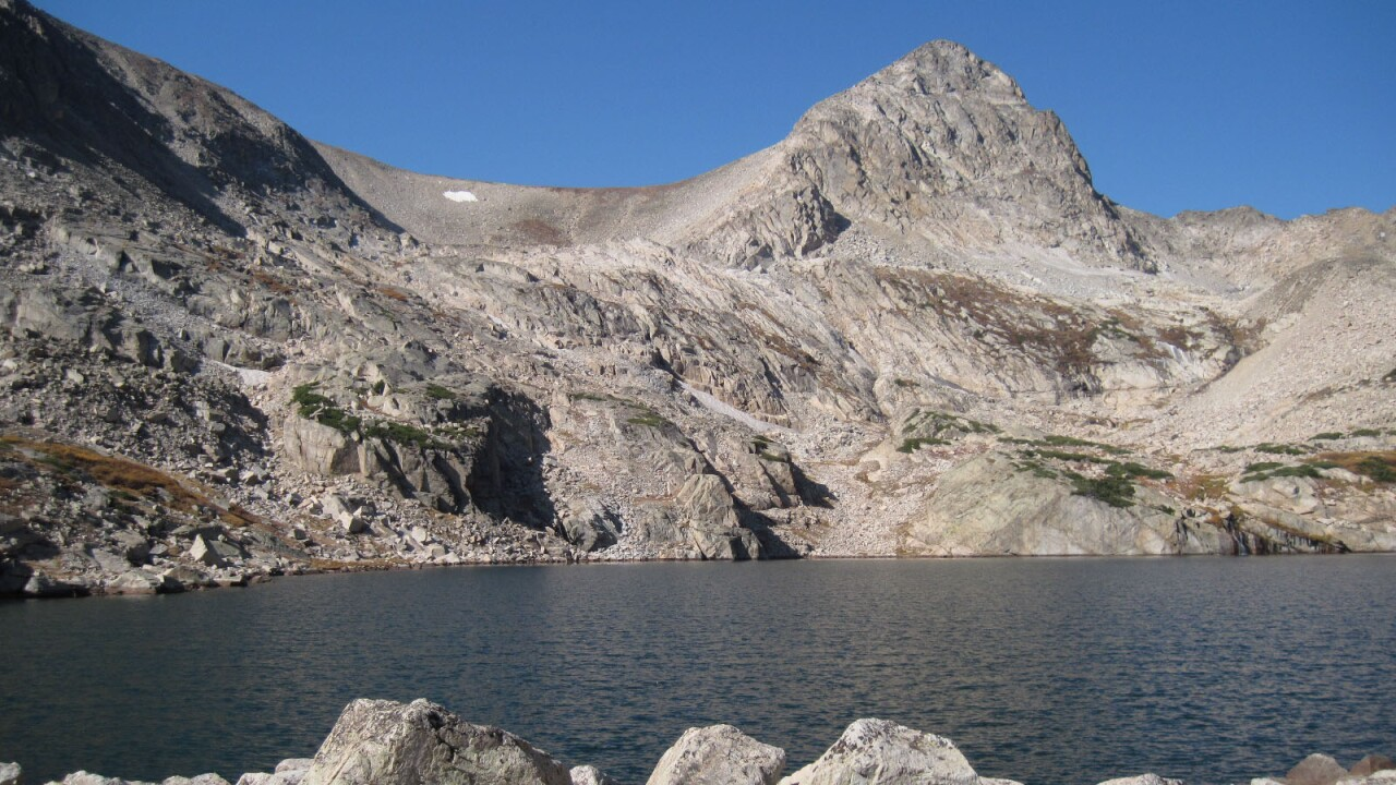 Blue Lake in Boulder County