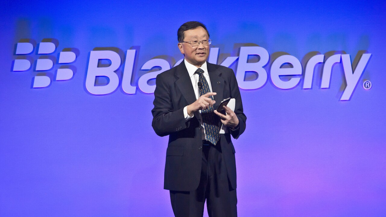 BlackBerry phones are coming back