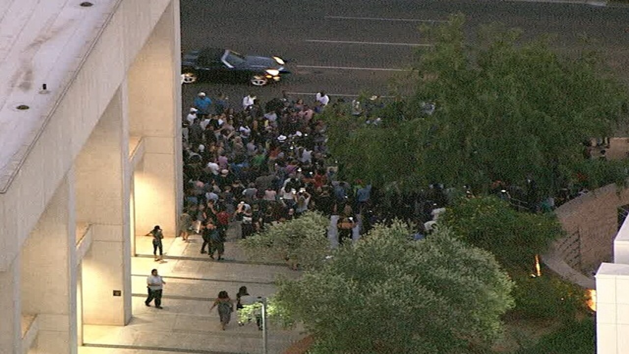 8PM: PHX rally to continue after Dallas ambush