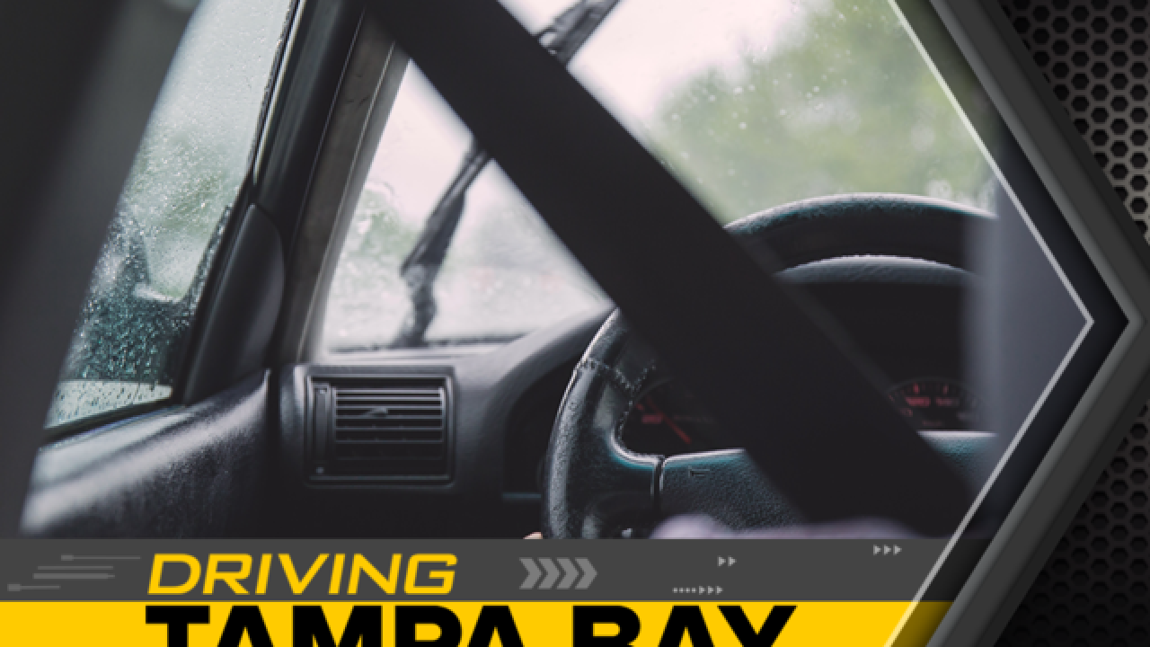 Is it legal to use hazard lights in the rain?
