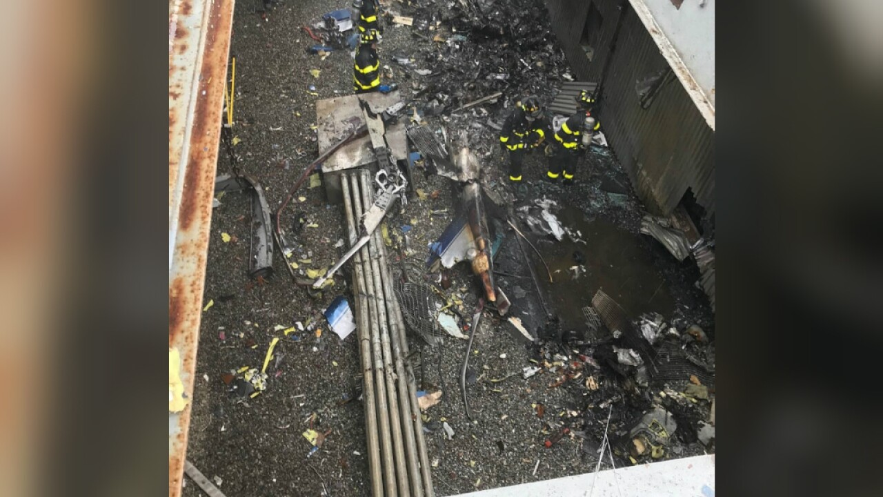 Pilot of helicopter that crashed on New York high-rise didn't have proper certificate, FAA says