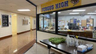 Fergus High School in Lewistown