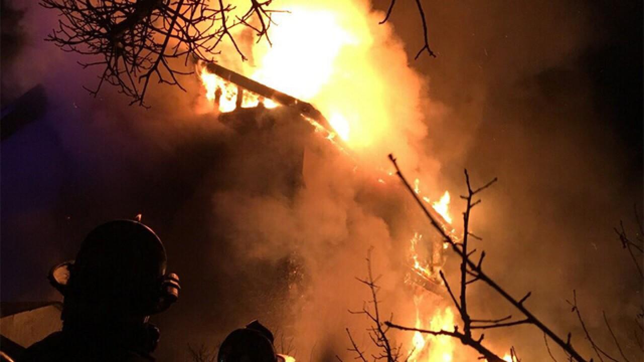 Fire destroys Littleton home, 2 dogs missing
