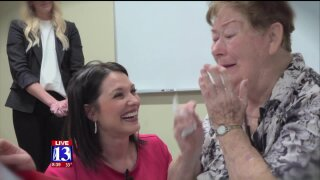 Fox 13 Dream Team rewards lifetime of service by paying off woman's home