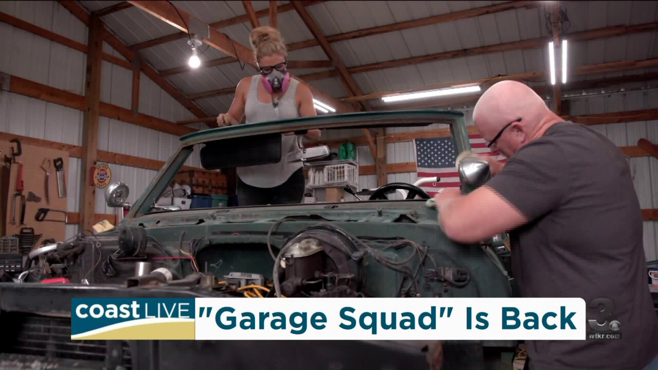 """Bruno Massel and Cristy Lee from """"Garage Squad"""" share details on the upcoming season on CoastLive"""