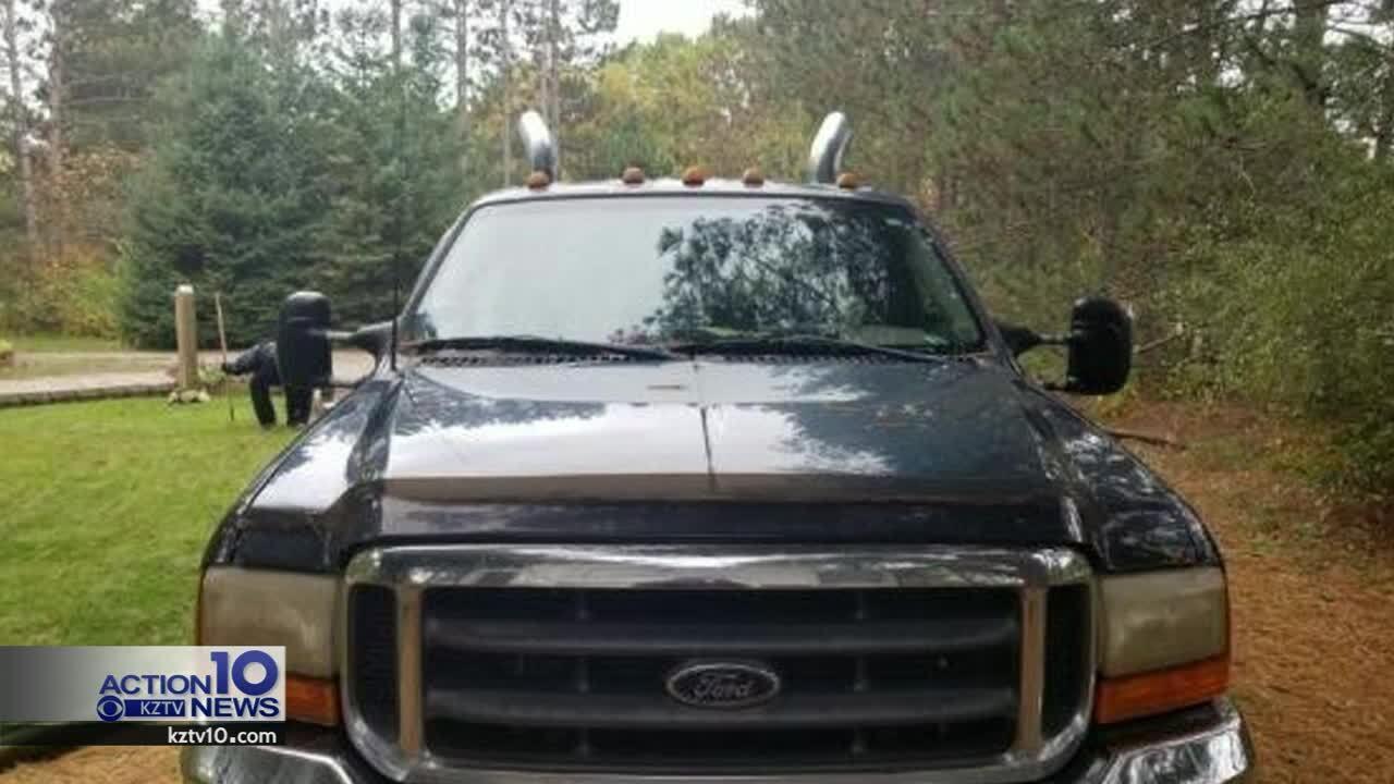 Terry Boss' truck