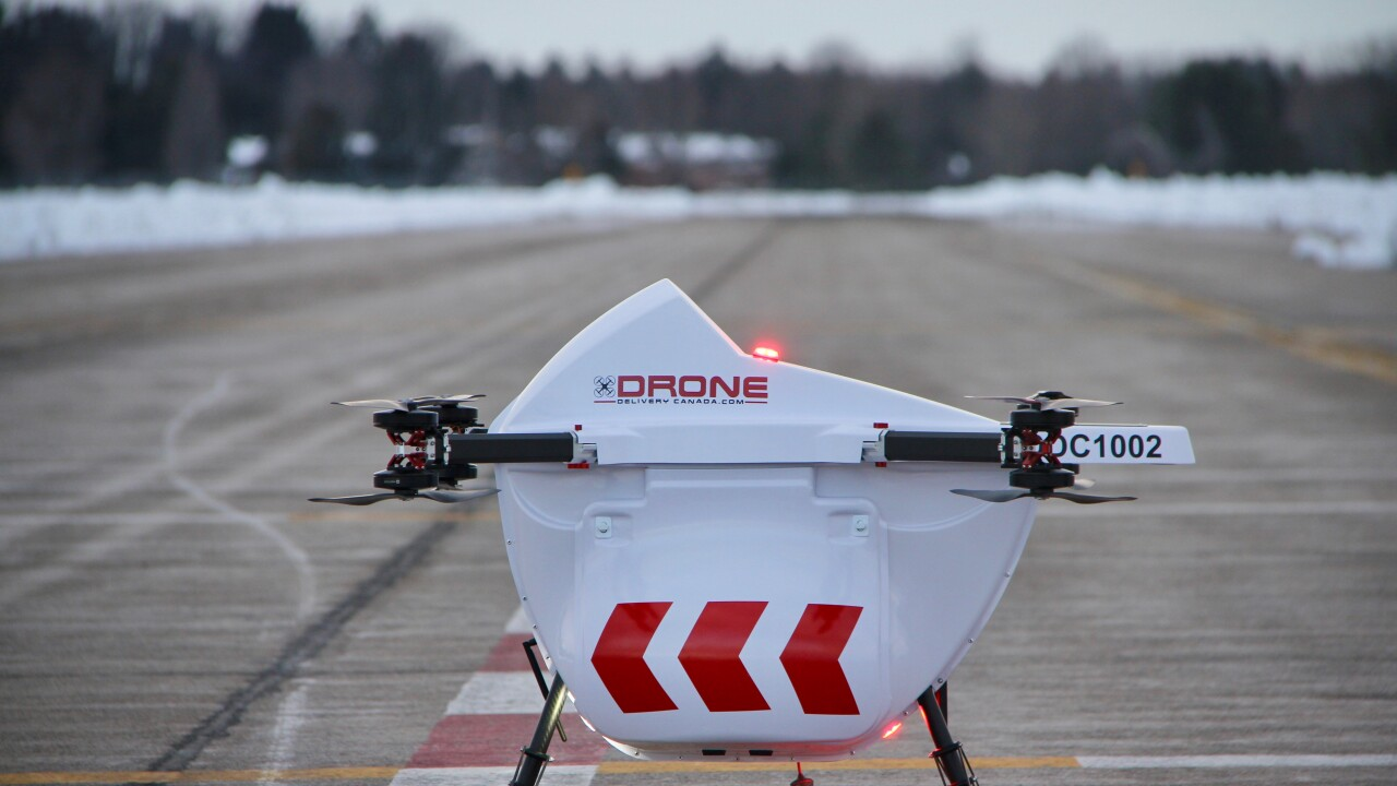 Drone Delivery Canada is working to develop solutions for businesses amid the COVID-19 outbreak