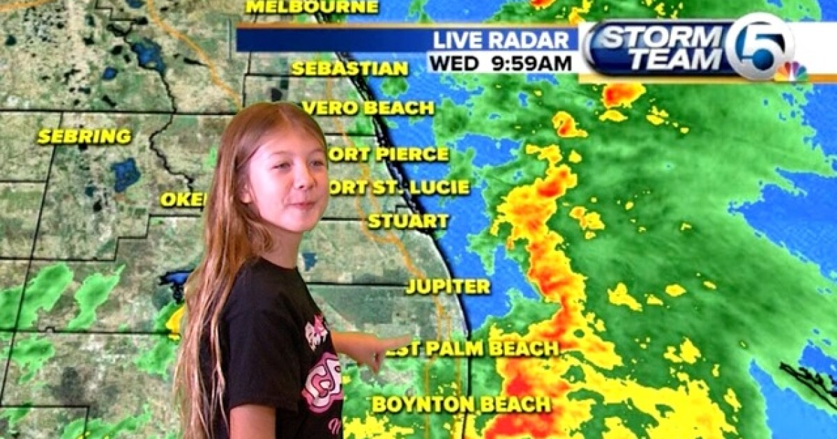 See your children in videos from the Weather wall at WPTV's Back to
