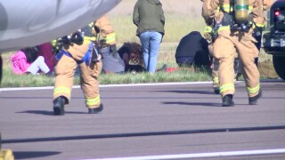 Great Falls airport conducts training using simulated plane crash