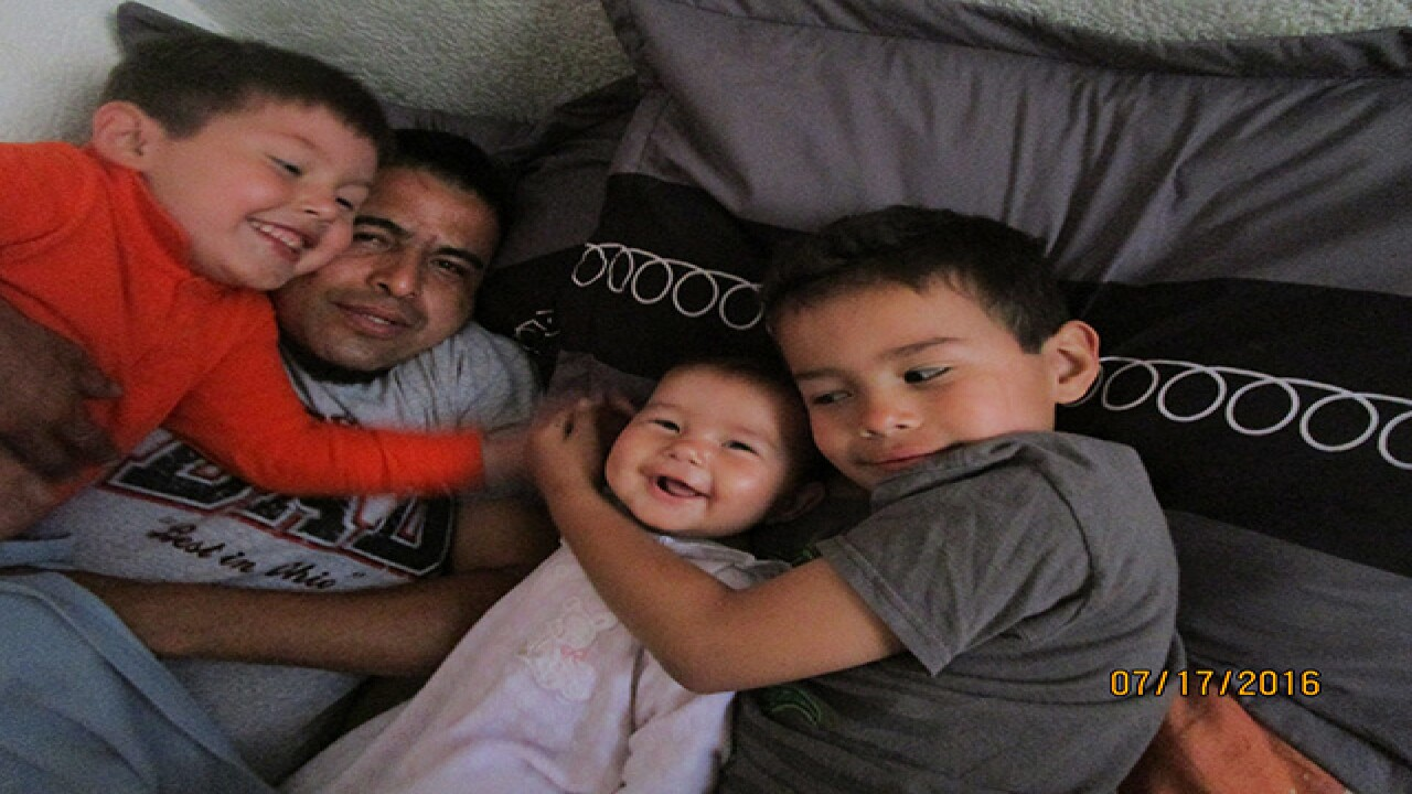 Mother fights to bring deported husband home
