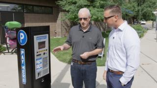New kiosk smart meters make downtown parking easier