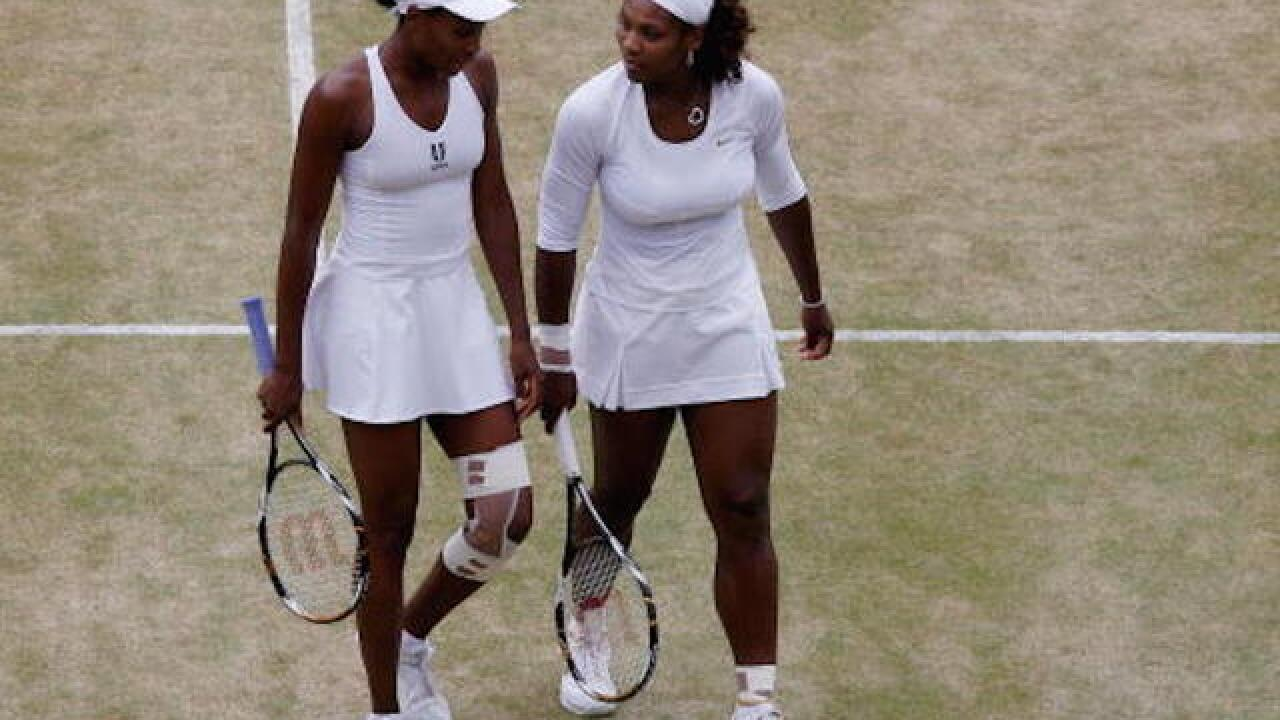 Williams sisters fall in Olympics doubles for the first time
