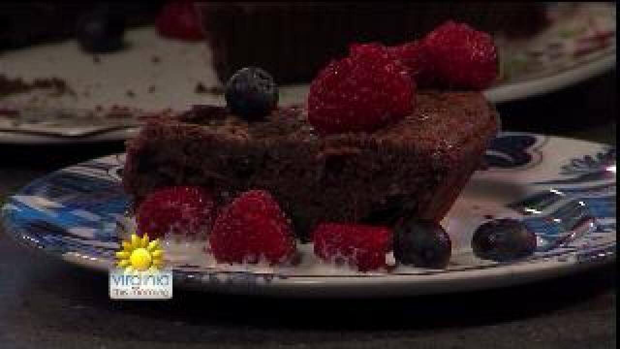 Recipe developer comes up with decadent chocolate creation