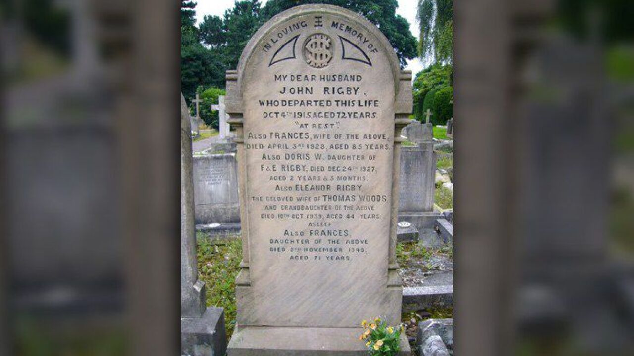 Eleanor Rigby S Grave For Sale Made Famous In Beatles Song