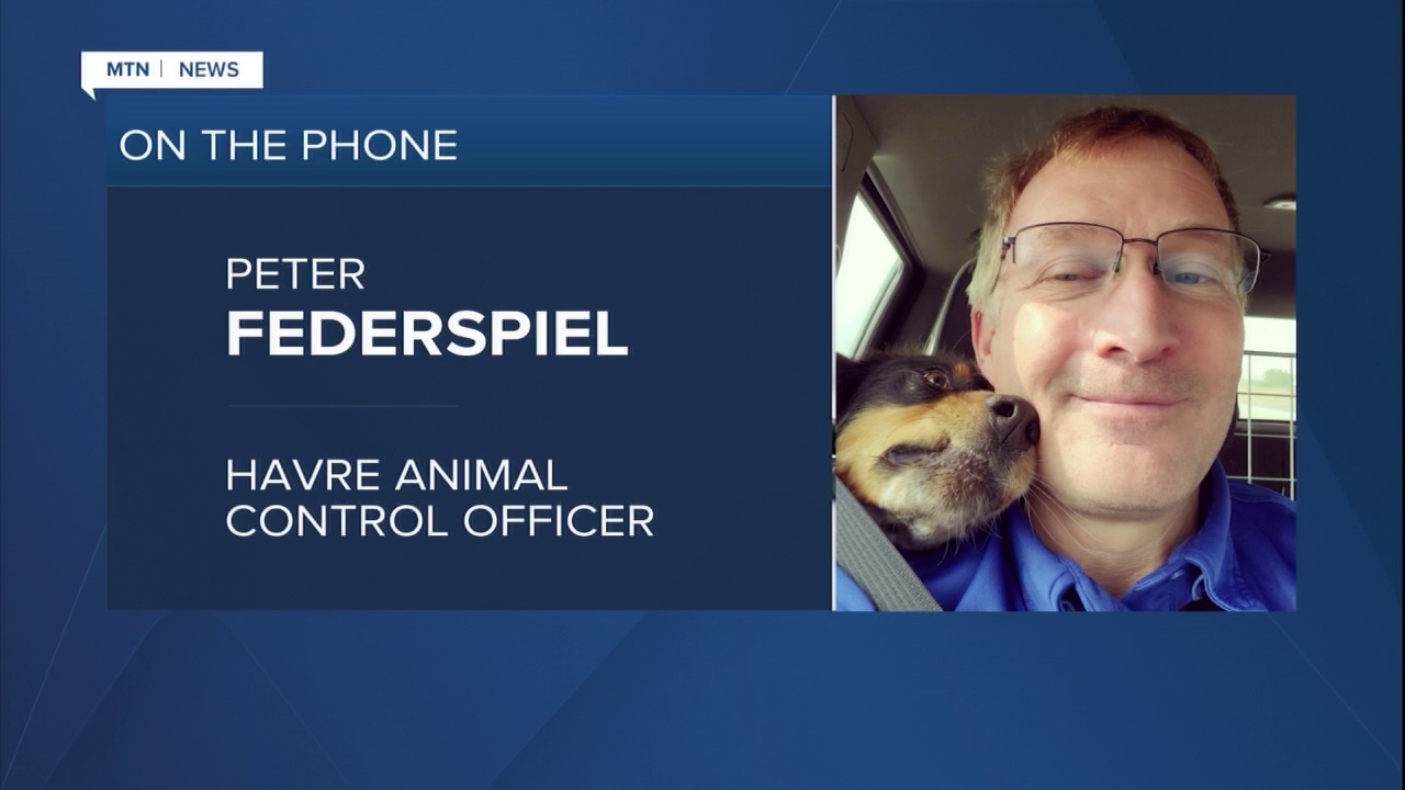 Peter Federspiel, an animal control officer in Havre