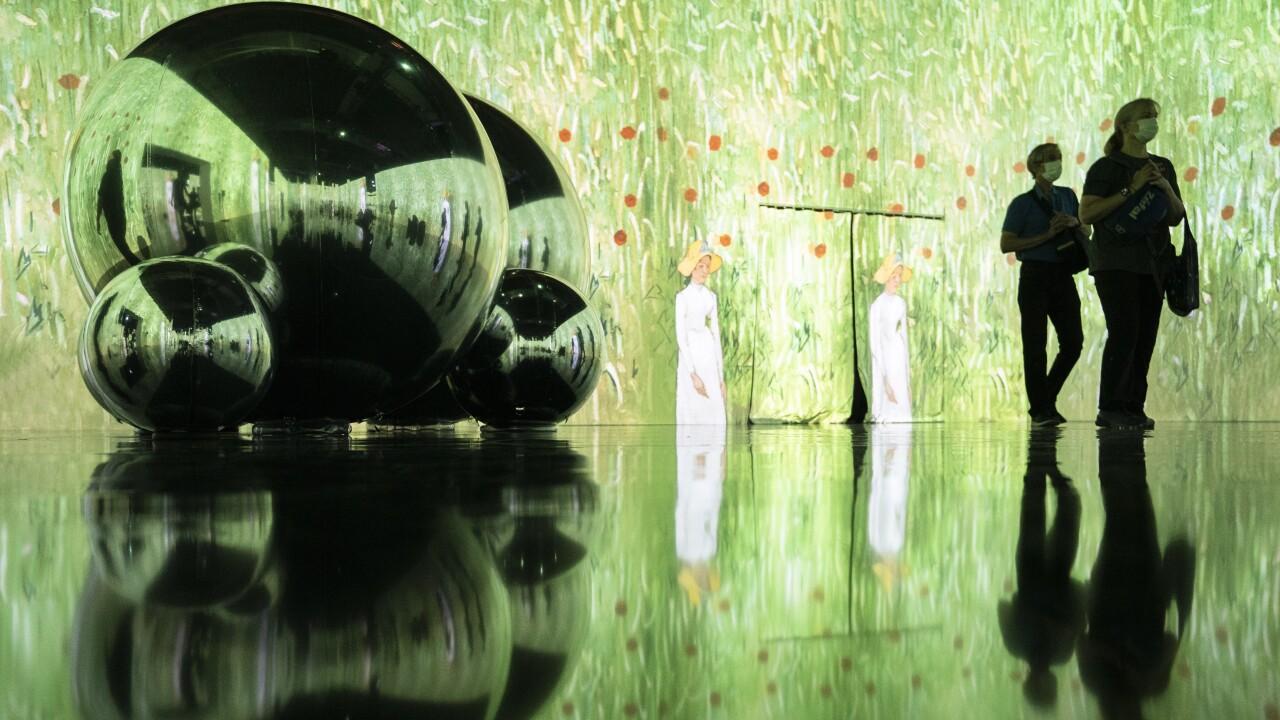 APTOPIX Immersive Van Gogh Exhibit