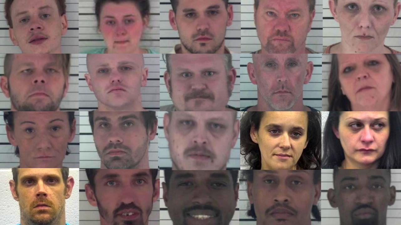 20 arrested on drug trafficking charges after 'Operation River Sweep