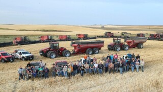 60 neighbors help harvest crop for North Dakota farmer who suffered heart attack