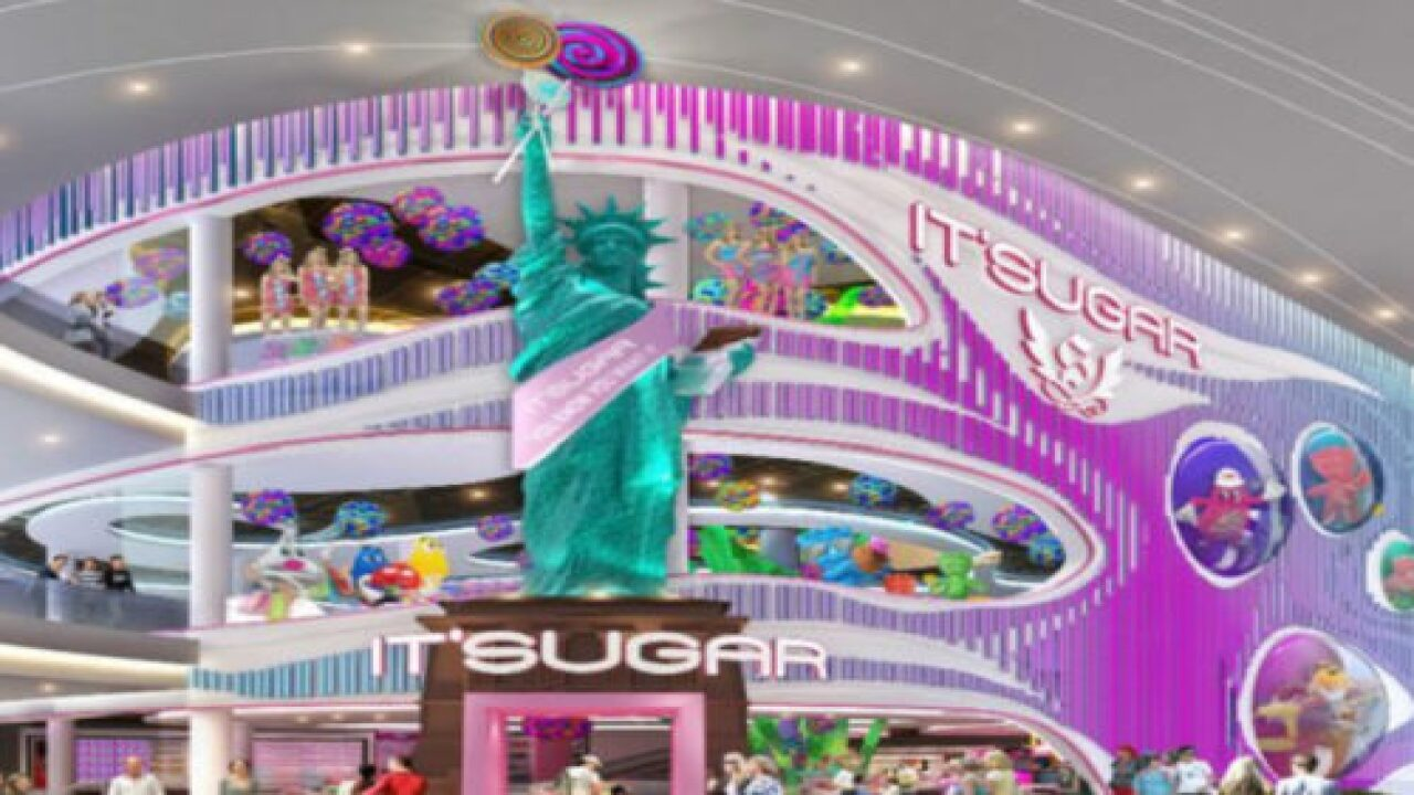 An Incredible 3-story Candy Store Is In The Works With More Than 10,000 Candy Choices