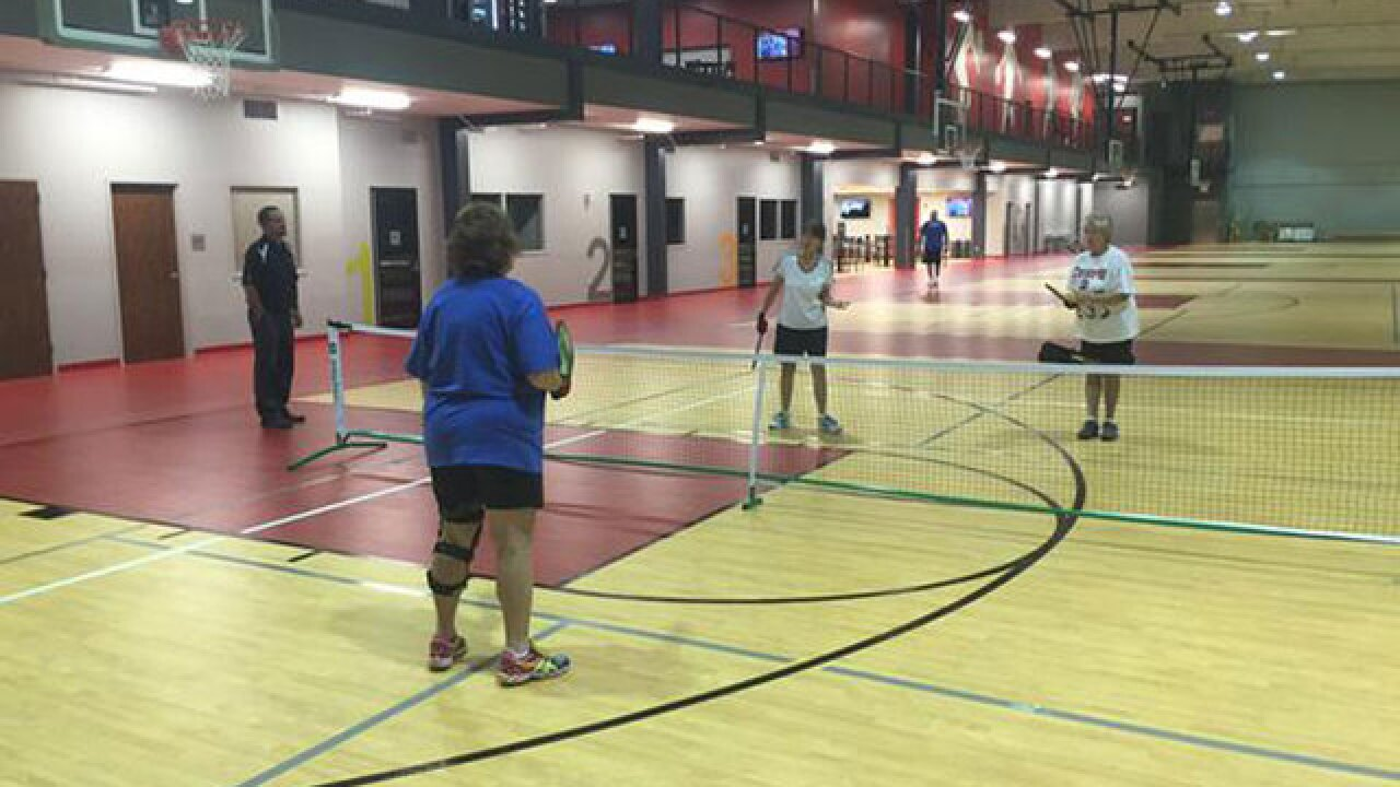 New indoor sports facility offers pickleball