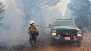 State Creek Fire Sept 11, 2020 Controlled Burn