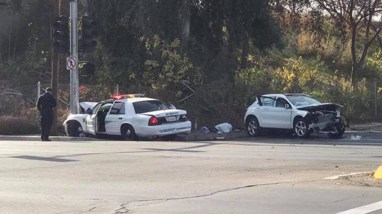 Sheriff's deputy involved in crash near Union and Niles; Road closures in effect