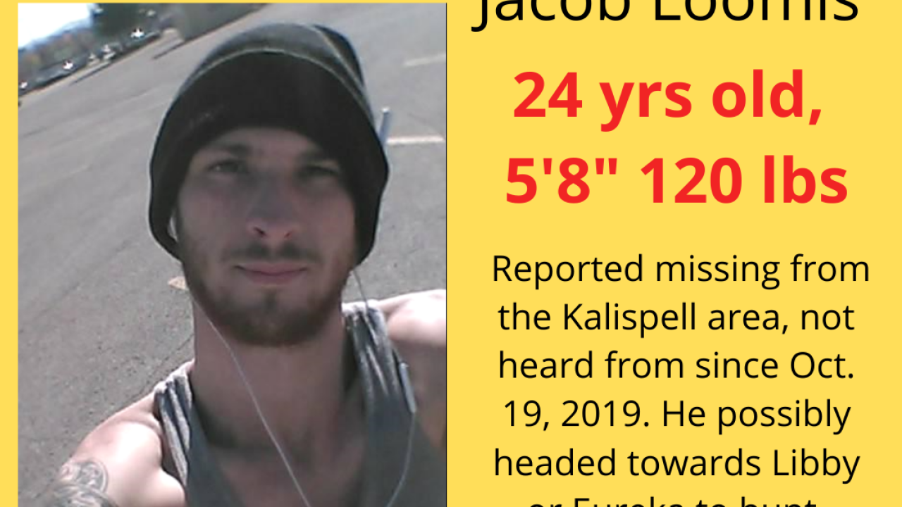 Jacob Loomis Missing Poster