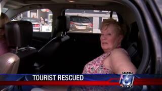 Arizona tourist rescued