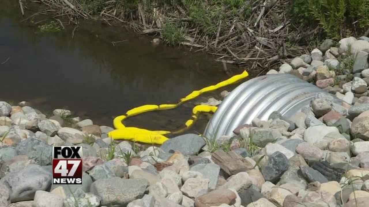 State says oil spill is minor