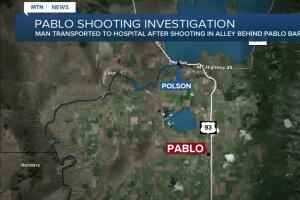Pablo shooting sends one person to the hospital