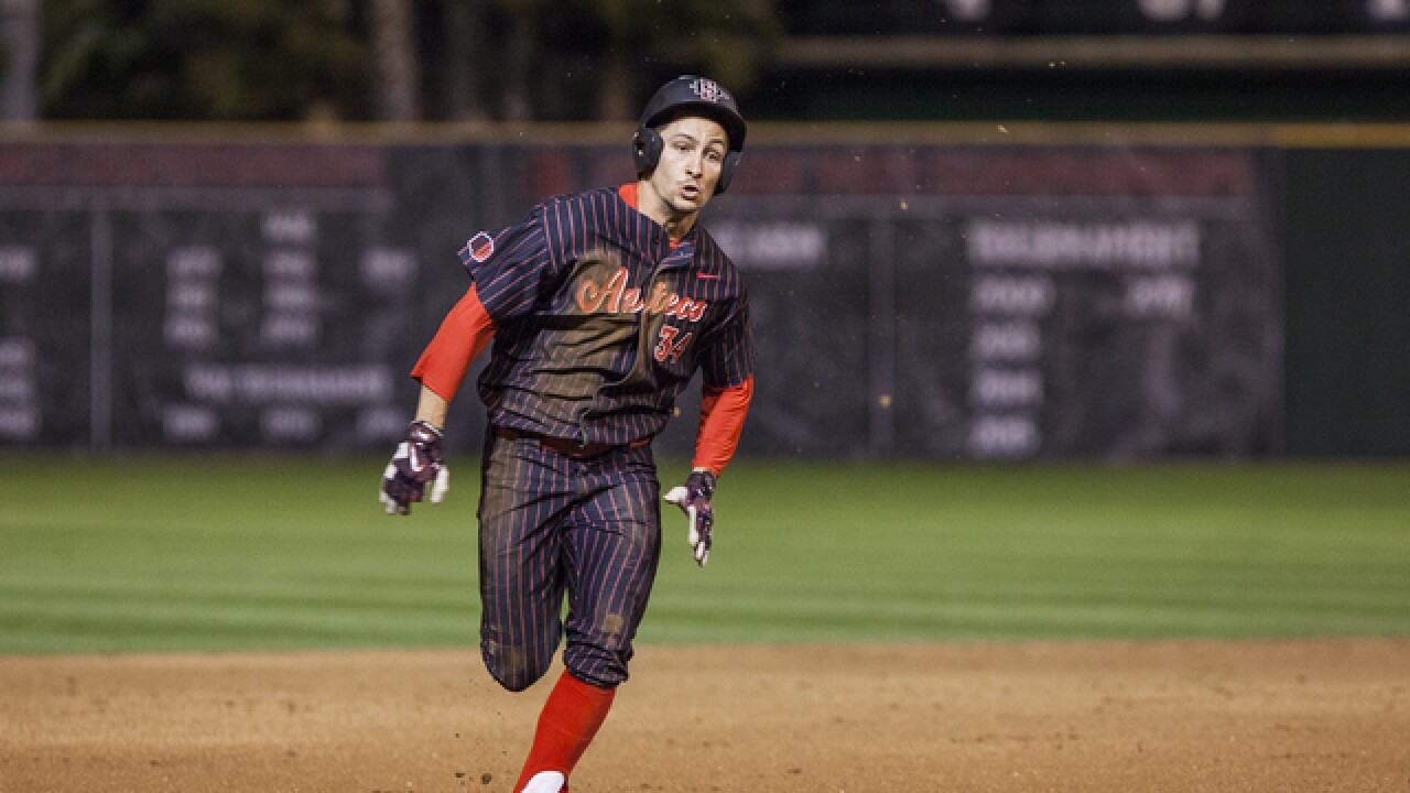 Aztecs baseball completes series sweep of UCSB with 7-5 victory