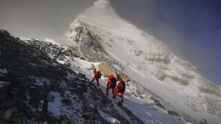 China Nepal Everest
