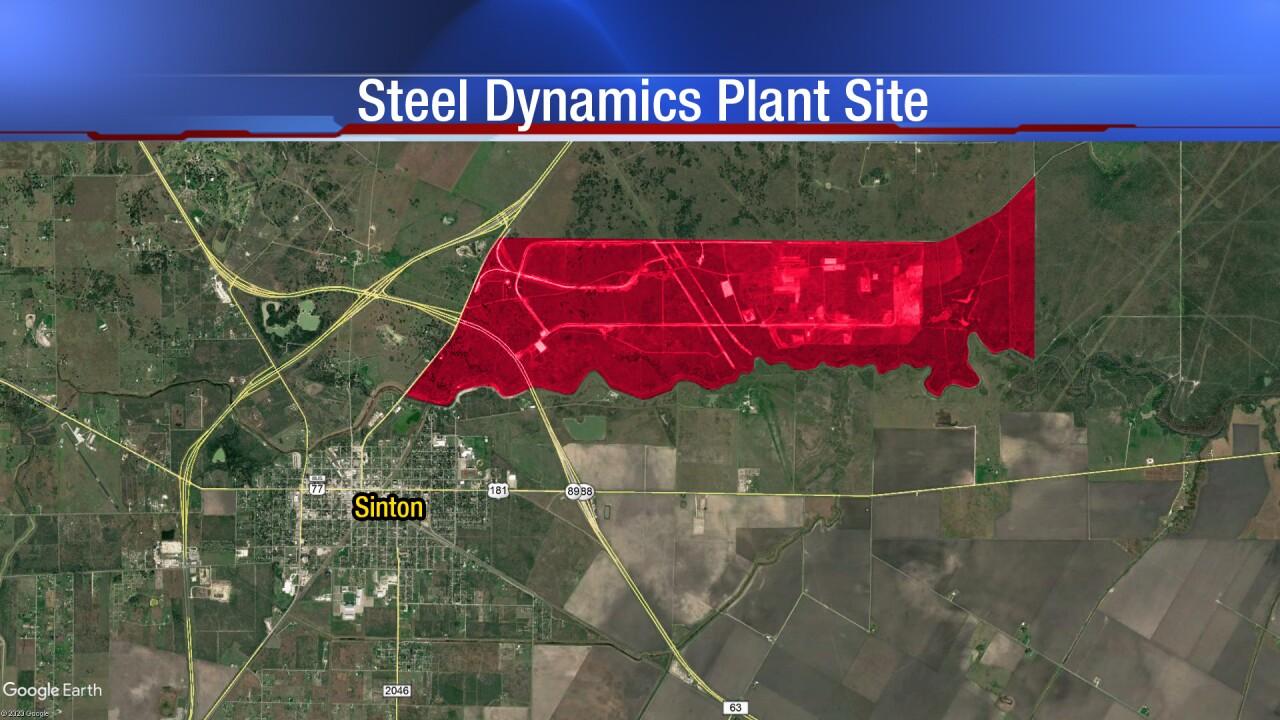 Steel Dynamics opening will transform Sinton economy