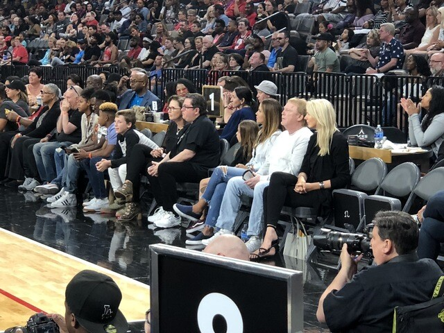 PHOTO GALLERY: Las Vegas Aces 2018 season
