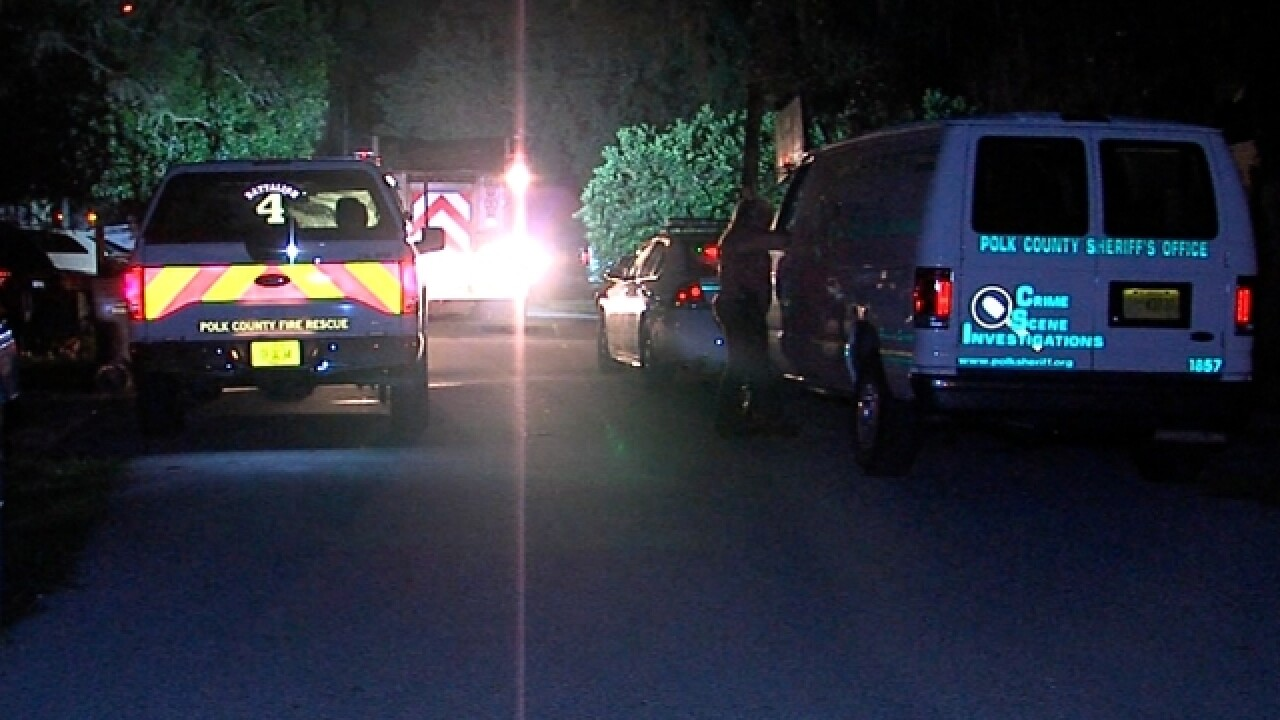 Woman killed in house fire in Polk Co.