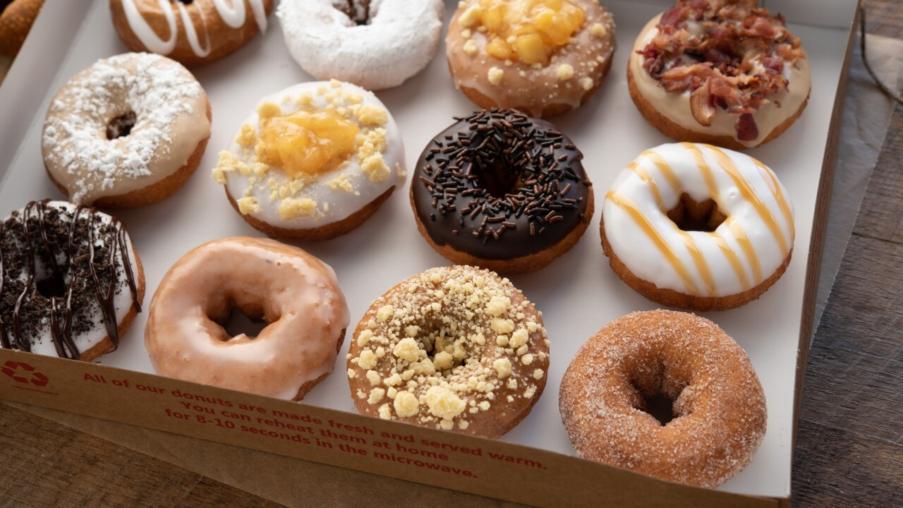 Pie-inspired fall flavors have returned at Duck Donuts
