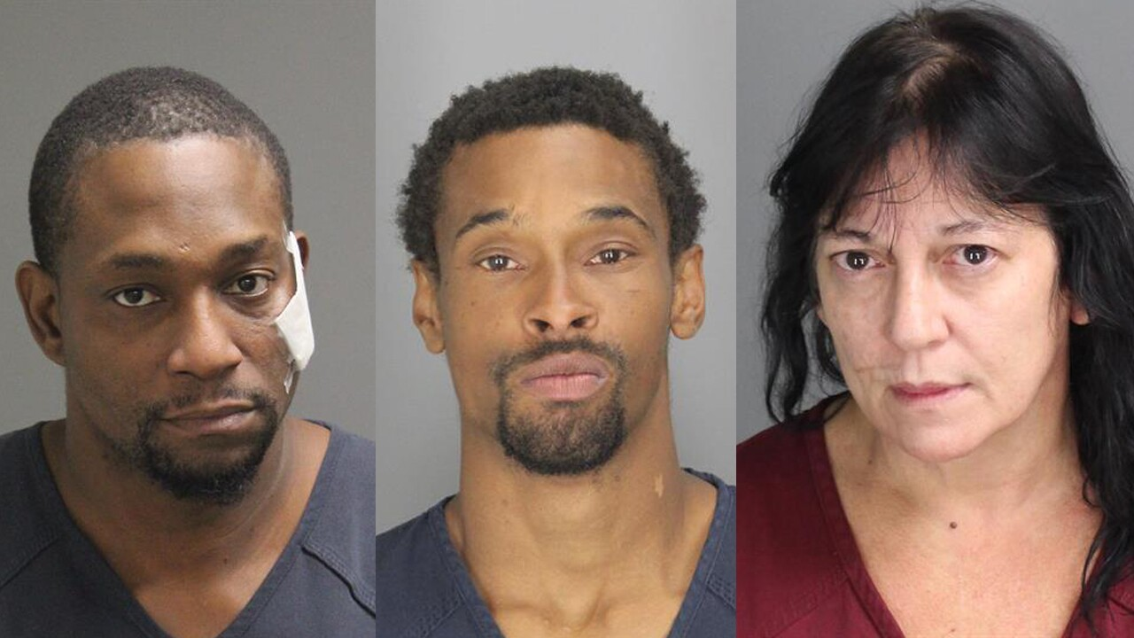 Two men, woman charged with severing four fingers from man's hand