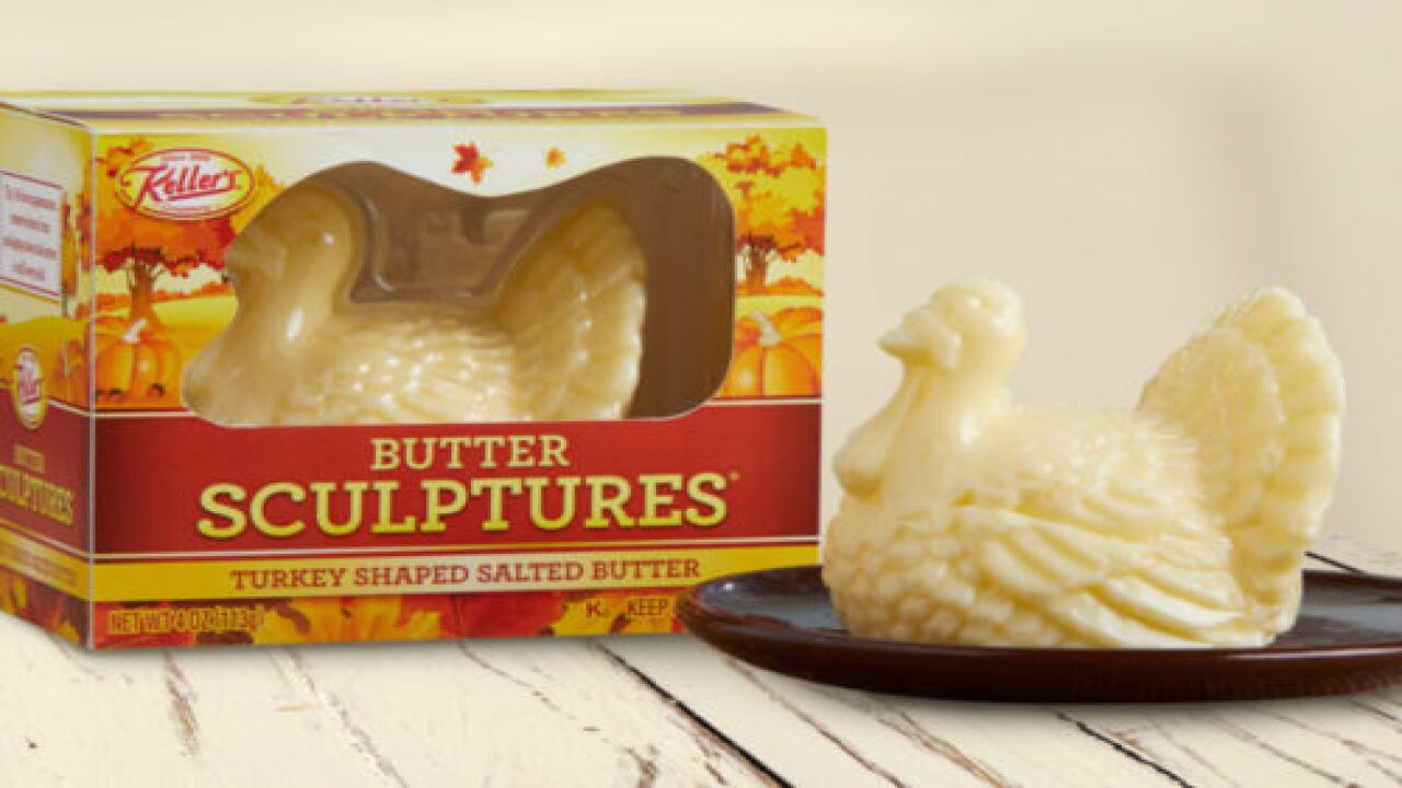 You Can Buy Turkey-Shaped Butter To Complete Your Thanksgiving Spread